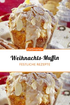 with speculoos - Christmas Muffin with Spekulatius Donut Recipes, Baking Recipes, Cookie Recipes, Dessert Recipes, Healthy Recipes, Snacks Saludables, Baked Donuts, Donuts Donuts, Food Cakes
