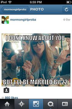 Mormons be like...