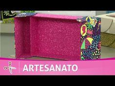 Vida com Arte | Caixa em cartonagem por Ane Matos - 06 de junho de 2016 - YouTube