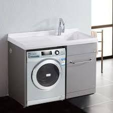 Resultado de imagen de washing machine in the bathroom