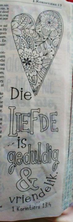 Bible Journal, Afrikaans, Art, Art Background, Kunst, Performing Arts, Art Education Resources, Artworks