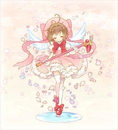 Anime, kawaii,  Kinomoto Sakura Cardcaptor Sakura, Syaoran, Sakura Anime, Manga Anime, Sakura Sakura, Noragami Anime, Haikyuu Anime, Girls Anime, Anime Art Girl