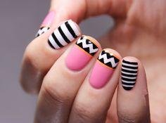 nice Простые узоры на ногтях для начинающих (50 фото) — Пошаговые инструкции Читай больше http://avrorra.com/prostye-uzory-na-nogtjah-dlja-nachinajushhih-pojetapno-foto/