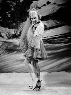 Vintage sports -- Sonja Henie, 1938 -- A Lifetime Legacy -- http://ALifetimeLegacy.com