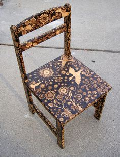 Burned Furniture by Cecilia Galluccio
