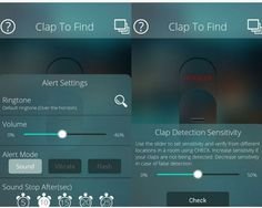 Find Out Lost Silent Mode Mobile Phone using Clap