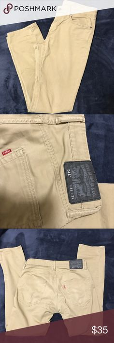 Khaki jeans In new condition. Basically new without tags Levi's Jeans Skinny