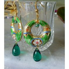 Meenakari long-green