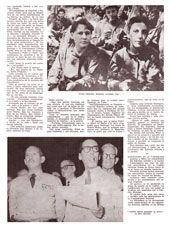 Facsímil de una página del texto Cómo se enteró Fidel de la caída de Batista, publicado por Bohemia el 11 de enero de 1959.(2)