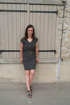 """Adeline ne cesse de porter cette petite #robe """"Légère comme une #plume"""" à 15€ ! #babou"""