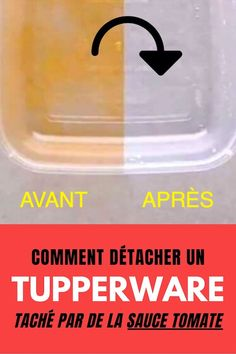 Cleaning a Tupperware box stained with tomato sauce is far from simple. And there is no question of putting toxic products. Here is a natural tip for detaching and degreasing a Tupperware or a deep plastic food box.