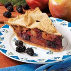 Apple-Blackberry-Pie
