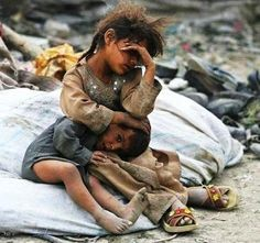 Children of the world in misery