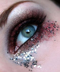 Eye Make up for 21st Halloween birthday party!! ♥