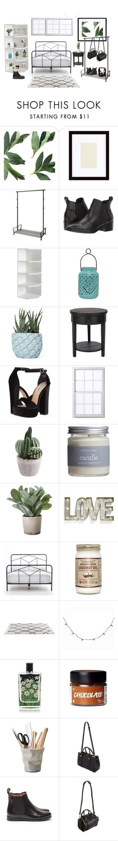 """If I had a dorm"" by ale-directioner-16 on Polyvore featuring interior, interiors, interior design, hogar, home decor, interior decorating, Pottery Barn, Steve Madden, WALL y Chen Chen & Kai Williams"