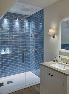 Ideal Bathrooms, Modern Master Bathroom, Beautiful Bathrooms, Simple Bathroom Designs, Restroom Remodel, Remodel Bathroom, Bathroom Inspiration, Bathroom Ideas, Shower Bathroom
