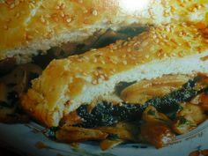 ricette con funghi - strudel salato