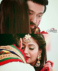Anika Ishqbaaz, Dil Bole Oberoi, Surbhi Chandna, Indian Couture, Tv Actors, Romantic Couples, Beautiful Couple, Peace And Love, Blouse Designs