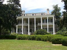 Pebblehill Plantation in Thomasville, GA......built 1850