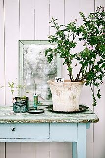 Beautiful Blue French Table Display