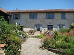Cottages in Campan Valley, Hautes Pyrenees, Midi-Pyrenees