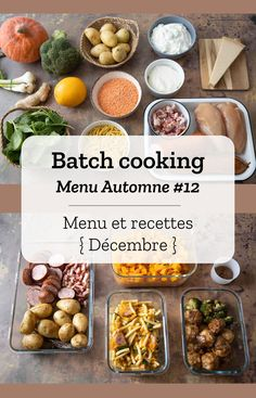 automne cooking batch 12 Batch cooking AutomneYou can find Clean eating meal plan and more on our website Clean Eating Meal Plan, Clean Eating Dinner, Clean Eating Recipes, Lunch Recipes, Batch Cooking, Fun Cooking, Cooking Recipes, Cooking Tools, Healthy Meal Prep