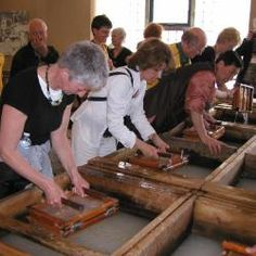 The International Association of Hand Papermakers and Paper Artists (IAPMA)  website:  www.iapma.info