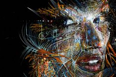Carne Griffiths, 1973 | Abstract Portrait painter | Tutt'Art@ | Pittura • Scultura • Poesia • Musica