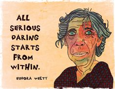 Eudora Welty--Art Print