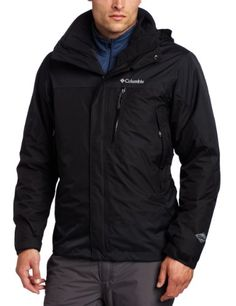 Columbia Mens Lhotse Mountain II Interchange Jacket Black Medium *** For more information, visit image link.