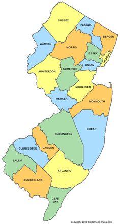 #CountiesofNewJersery