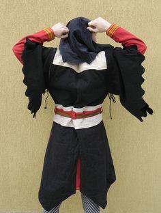 LARP costume back