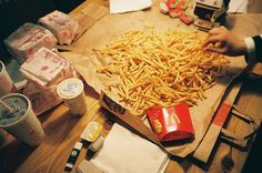 Fries galore!!!