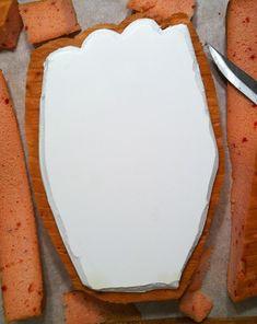 Carved BaseBall Glove Cake