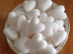 Thank you for taking time to look at the Sugar Hearts They are pretty and dainty and compliment any special occasion. Each Heart is approx 1 teaspoon They are made to order and I am able to match most colour themes. They can be added to hot or cold drinks .(Ideal for cocktails) They do