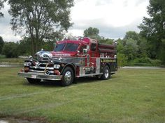 1000+ images about VINTAGE FIRE EQUIPMENT on Pinterest   Trucks ...