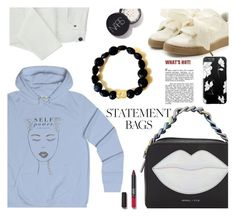 """""""Carry On: Statement Bags (7)"""" by samra-bv ❤ liked on Polyvore featuring Kendall + Kylie and Puma"""