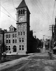 .Carbon County Courthouse, Mauch Chunk, Pa