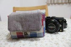 ミラーレスのカメラケース 作り方 - poco a poco Blog Entry, Diy And Crafts, Sewing, Handmade, Bags, Ideas, Dressmaking, Handbags, Hand Made