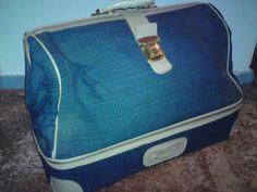 Reisetasche aus den 50er Jahren von Pepita Antique Vintage Negozio auf DaWanda.com
