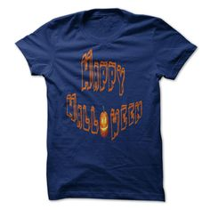 Happy Halloween Shirt Navy Blue T-Shirts, Hoodies. VIEW DETAIL ==► https://www.sunfrog.com/Holidays/Happy-Halloween-T-Shirt--Navy-Blue.html?41382