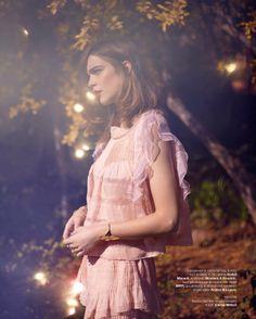 visual optimism; fashion editorials, shows, campaigns & more!: droombeeld: kim noorda by david cohen de lara for marie claire netherlands ma...