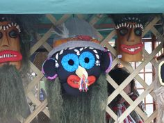 Traditional Romanian Mask Folklore, Captain Hat, Wreaths, Traditional, Halloween, Hats, Door Wreaths, Hat, Deco Mesh Wreaths