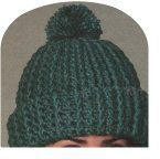 This free crochet hat pattern is just one of many you will find here.
