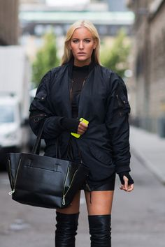 Black is the new black - Betty - Be true to yourself Nike Shoes For Sale, Nike Shoes Outlet, Ugg Boots, Shoe Boots, Black Betty, Cheap Boots, Looks Street Style, Thigh High Boots, Everyday Look