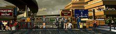 decors jeu combat 001 Des décors de jeux de combat classiques en gif