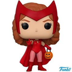 Halloween Vinyl, Halloween Designs, Halloween Inspo, Funko Pop Marvel, Capitan America Marvel, Captain America, Captain Marvel, Pop Vinyl Figures, Scarlet Witch