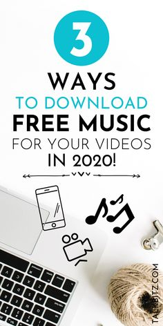 3 Ways to Download Free Music for Your Videos! We would love to take videos of our lovely moments every time! So, if you're a Youtube content creator, how do you find and download free music for Youtube videos? Here's a list of the best places to find and download free music for Youtube videos in 2020. #YouTube #YouTuber #Workfromhome #YoutubeVideos #Bloggers Free Music Sites, Free Music Download Sites, Get Free Music, Free Music For Videos, Find Music, Music For You, Music Videos, School Advertising, Copyright Free Music
