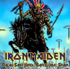 The Clock That Went Backwards Again: Iron Maiden - 2014-05-27 - Barcelona