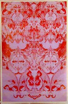 East Totem West #psychedelic poster. Lady Spoon.